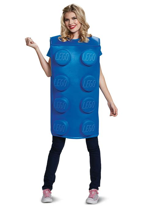 adult size legos lego blue brick costume for adults