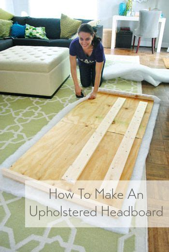 how to make a bed headboard 25 best ideas about diy fabric headboard on pinterest