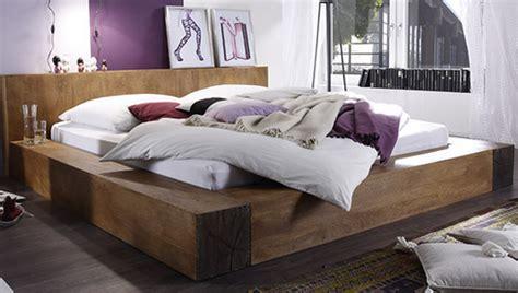lit creed en bois de manguier massif la maison de la