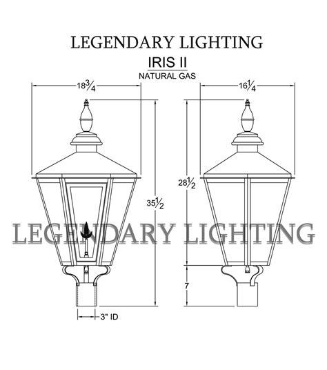 Legendary Lighting by Iris 2 Post Legendary Lighting