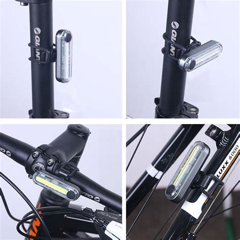 led cycle lights rear cycle lights usb rechargeable led rear bike