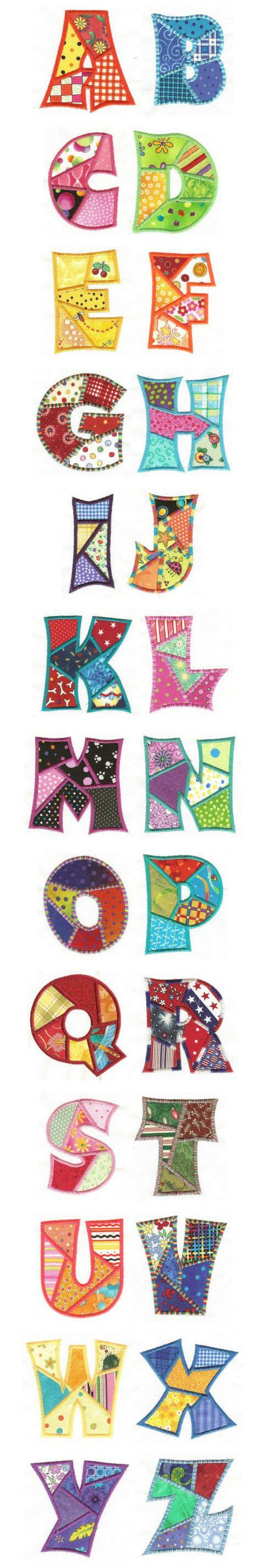 Patchwork Applique Patterns Free - crafting design and machine embroidery designs on