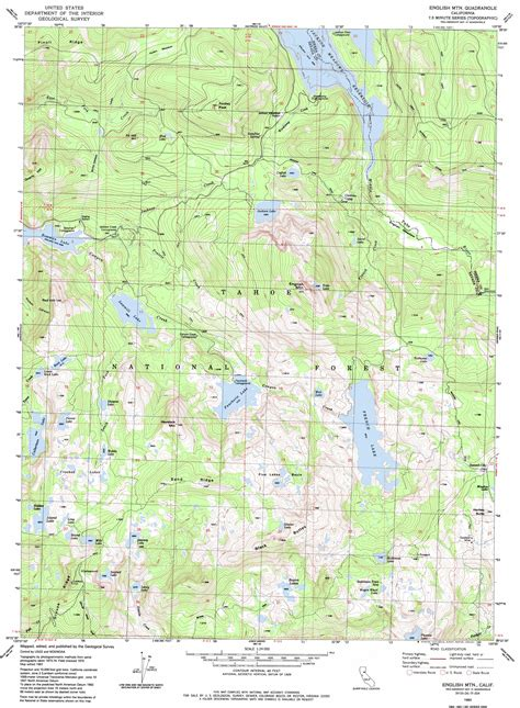 topo map mountain topographic map ca usgs topo 39120d5