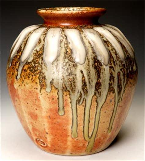 Handmade Pot - pot with cones handmade pottery by greg seigel of owenton