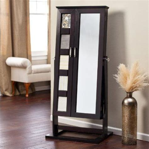 Jewelry Armoire Cheval Standing Mirror cheval mirror jewelry armoire and armoires on
