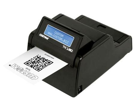 tk180 ticket printers ticketing custom spa