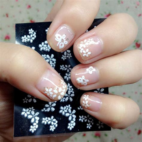 Nail Sticker Manicure Decoration Tatto 6 aliexpress buy new 2015 30 sheets floral design 3d