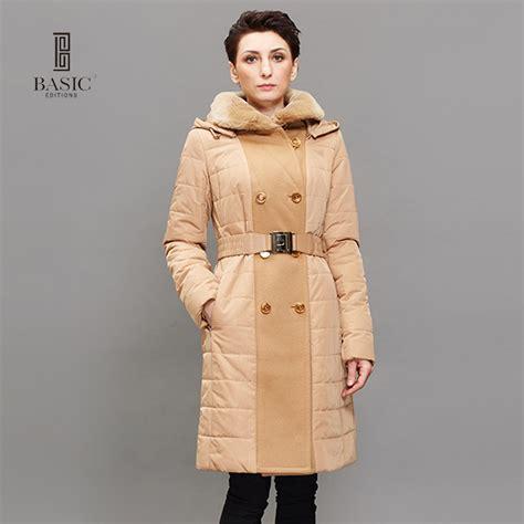 Jfashion S Basic Parka Jacket 12 basic editions winter jackets and coats fashion casual thinsulate rex rabbit collar