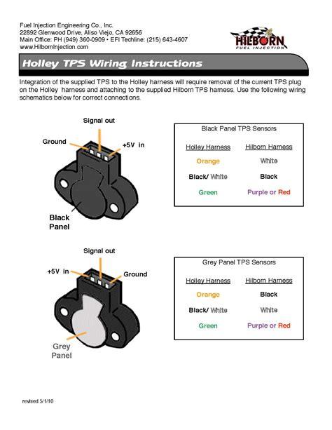 holley hp efi wiring diagram high voltage transformer