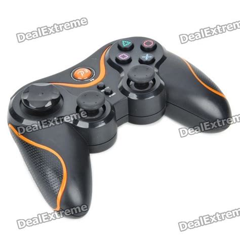 Controller Stick Ps3 Sixasis buy dualshock bluetooth wireless sixaxis controller for ps3 black orange