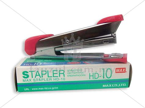 Staples Max Hd 10 Staples max stapler hd 50 fauzul enterprise