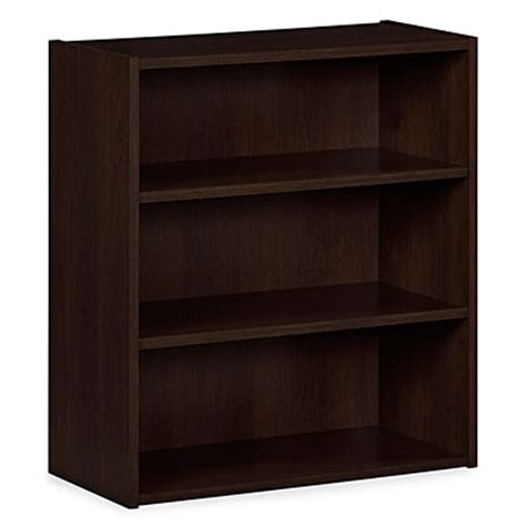 ameriwood russet cherry 3 shelf bookcase big lots