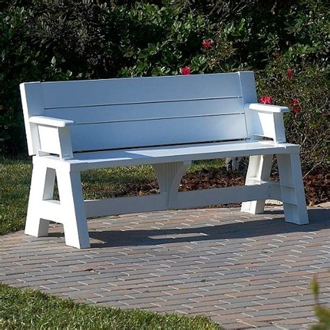 convert a bench picnic table convert a bench findgift com