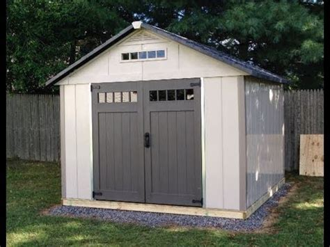 Barrette Sheds by Homestyles 10 X 10 Shed Installation