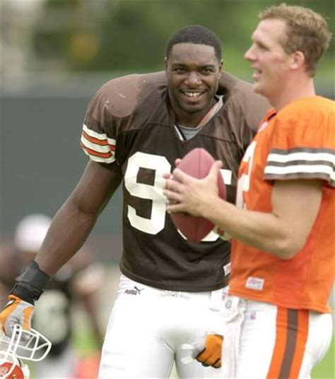 tim couch college cleveland browns training c through the years in