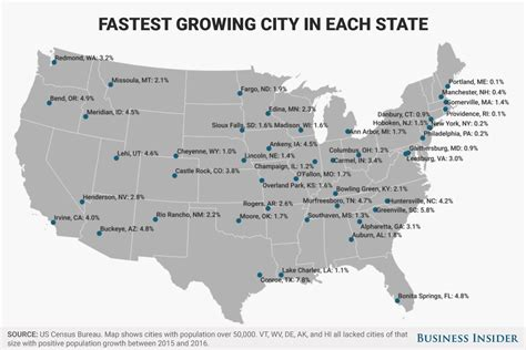 Watch Major Chionships The 5 Biggest U S Open - fastest growing city in each state map business insider