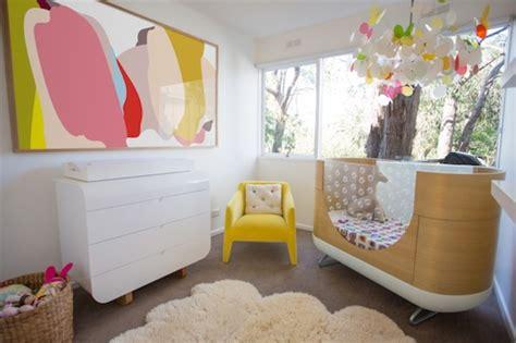 stylish light and bright baby s nursery design inspiration kidsomania
