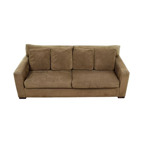 crate and barrel sofa 48 off rooms to go rooms to go off beige three cushion