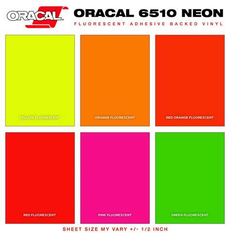 fluorescent color neon pantone color chart