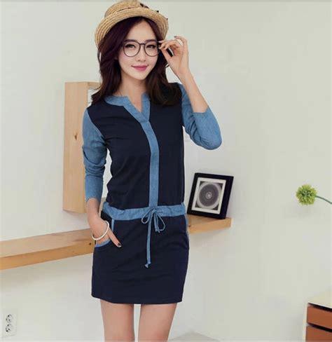 Pakaian Pria Korean Style Hem Baju Pria Katun Melar Trendy 1 model baju korea lengan panjang situs informasi pasar