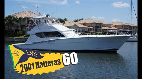 hatteras sport fishing boats for sale sold 2001 hatteras 60 sport fishing yacht for sale at