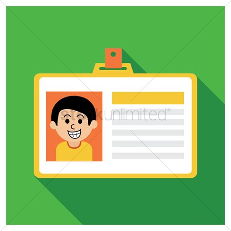school id card design vector student id card vector image 1317663 stockunlimited