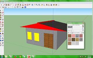 tutorial gambar rumah dengan sketchup denah rumah google sketchup halloween f