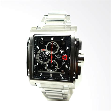 Jam Tangan Alexandre Christie 6405 jual alexandre christie jam tangan pria hitam 6405