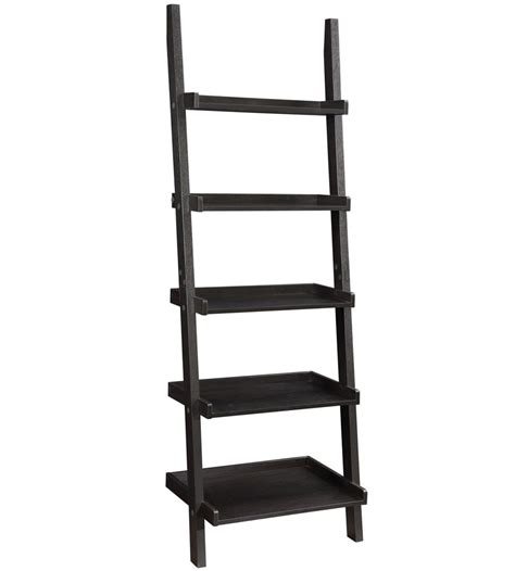 5 shelf ladder bookcase in bookcases