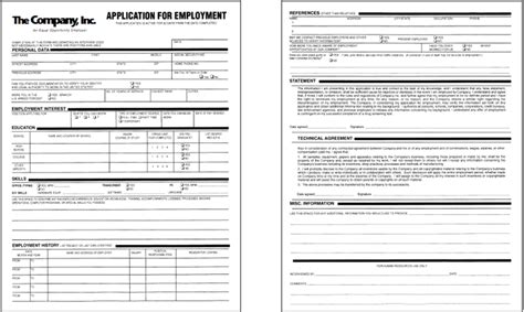 here is a sle application form that you can print