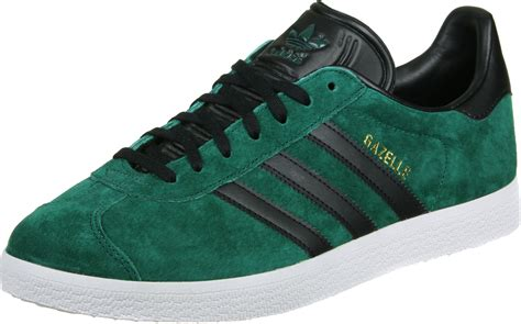 Adidas Green adidas gazelle shoes green black
