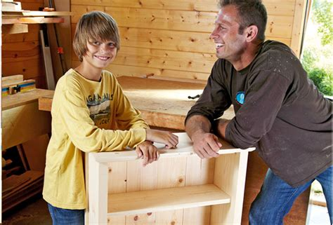 father son projects build a bookcase this father s day australian handyman