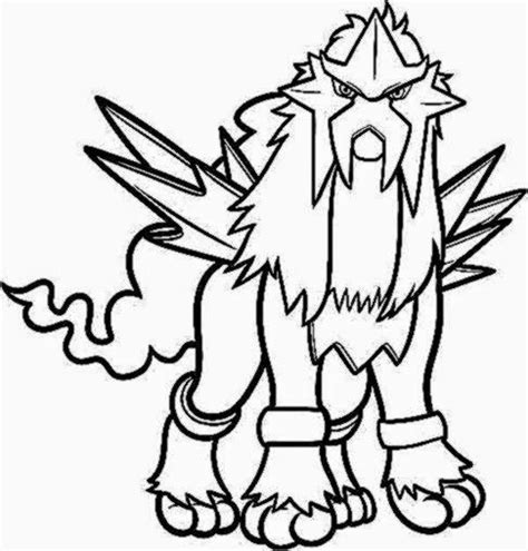 pokemon coloring pages legendary dogs all fire pokemon coloring page images pokemon images