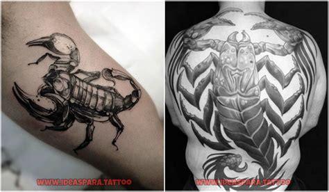 imagenes de tatuajes de zodiaco tatuajes de escorpiones ideas para tatuajes de hombre