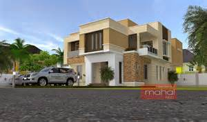 House Design Modern Bungalow contemporary nigerian residential architecture b ola house