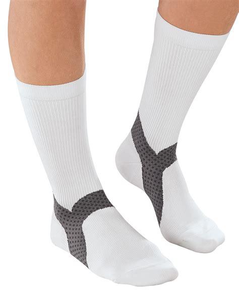 Planters Fasciitis Socks by Easycomforts Plantar Fasciitis Crew Socks 1 Pair Ebay