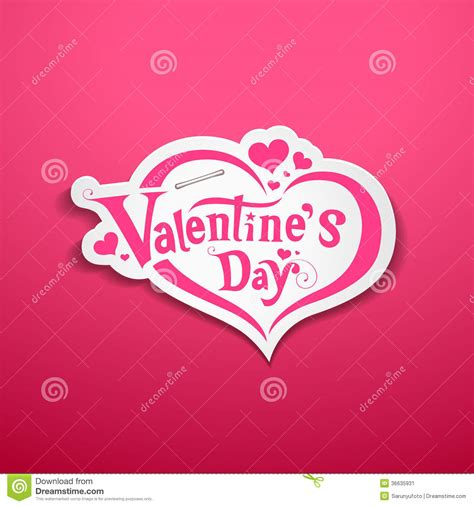 happy valentines day lettering happy valentines day lettering design stock image image