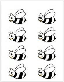 bumble bee template printable at home pinterest