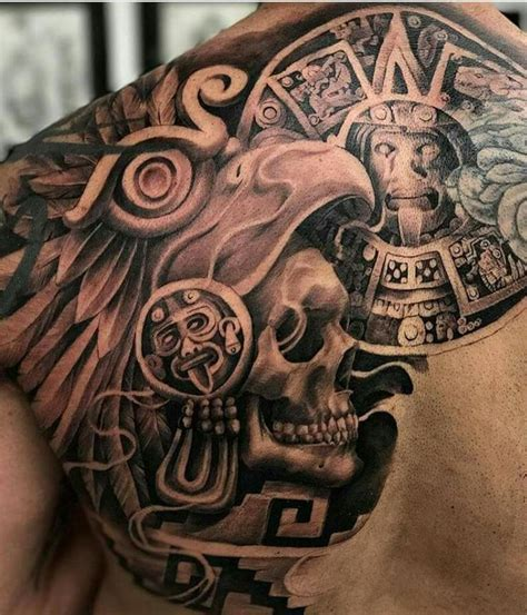 aztec skull tattoos 128 best images about brown by honor on viva