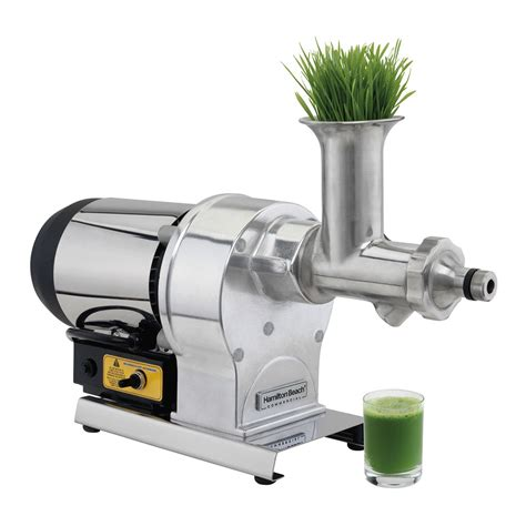 Juicer Wheatgrass hamilton hwg800 electric wheat grass juicer w