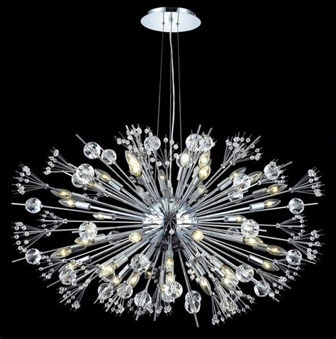 Chandeliers Miami Lighting 3400 Cyclone Collection 44 Light Chandelier In Modern