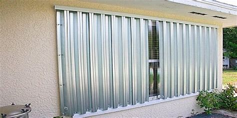 hurricane window covers hurricane shutters and panels griffiths metal products