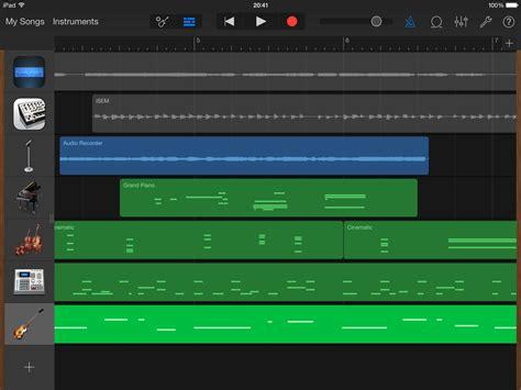 Garage Band Update by Garageband Update Apple Tune Their Ios Daw