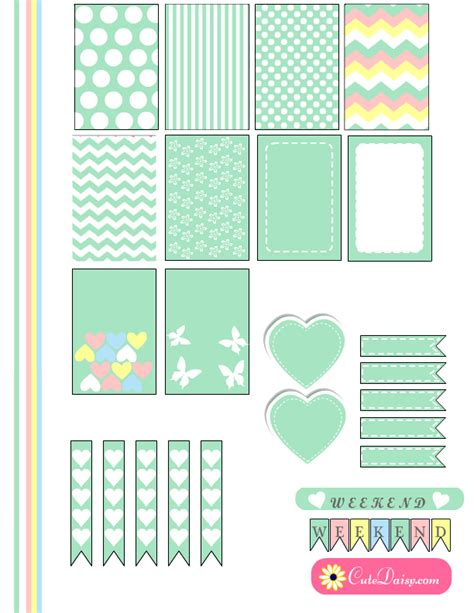 printable color stickers free printable planner stickers in marshmallow colors