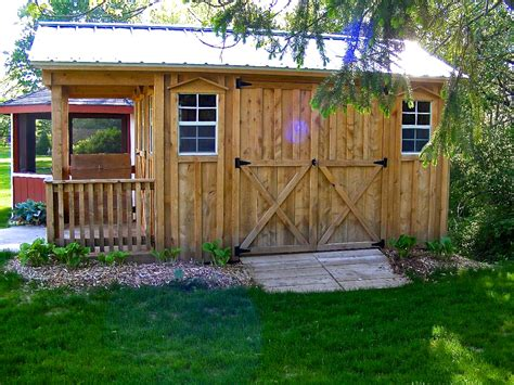 Sheds With Porches For Sale by Shed Gallery Amish Sheds Inc