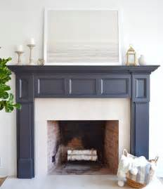 best 25 painted fireplace mantels ideas on pinterest