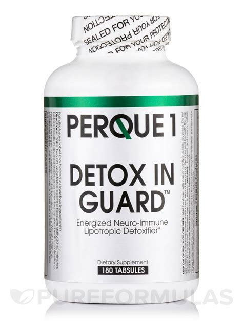 Detox Nervous System by Perque1 Detox In Guard 180 Tabsules