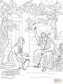 Elijah And The Widow Of Zarephath Coloring Page elijah and the widow of zarephath coloring page free