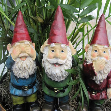 bad garden gnomes