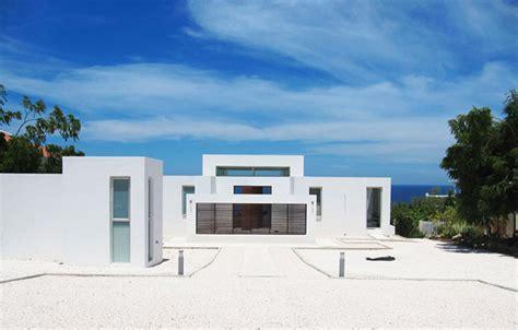 design house curacao modern holiday ocean villa in curacao island overlooking